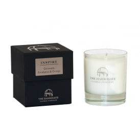 30cl Candle INSPIRE Geranium Eucalyptus & Orange