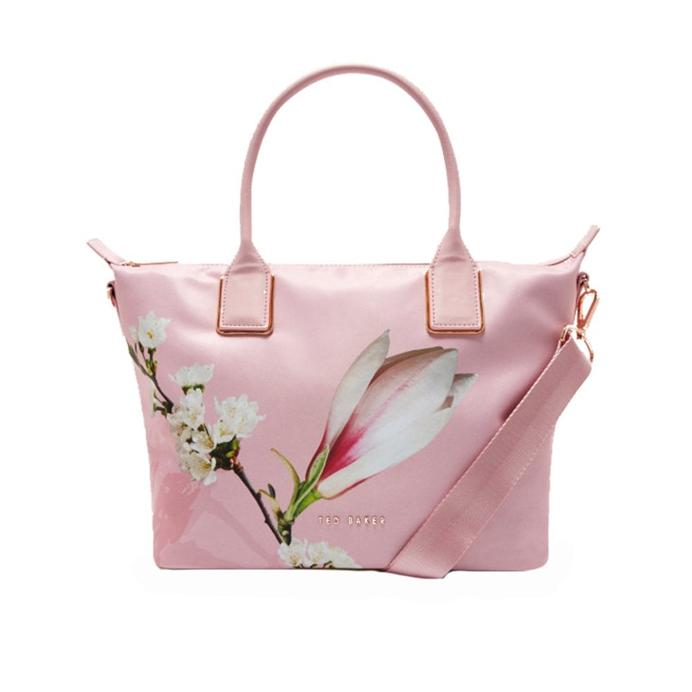 01b9e039adc TED BAKER ALEXIIA harmony small nylon tote bag PINK - Ladies from ...