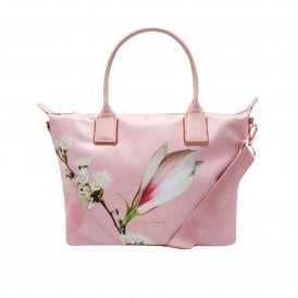 f5c42d86885a1 ALEXIIA harmony small nylon tote bag PINK SALE. TED BAKER ...