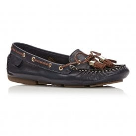 ALIDIA casual boat shoe navy