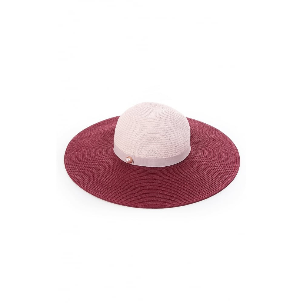 TED BAKER ALISAE-Colour block floppy hat - Ladies from Sandersons ... 4bc0579b4a4