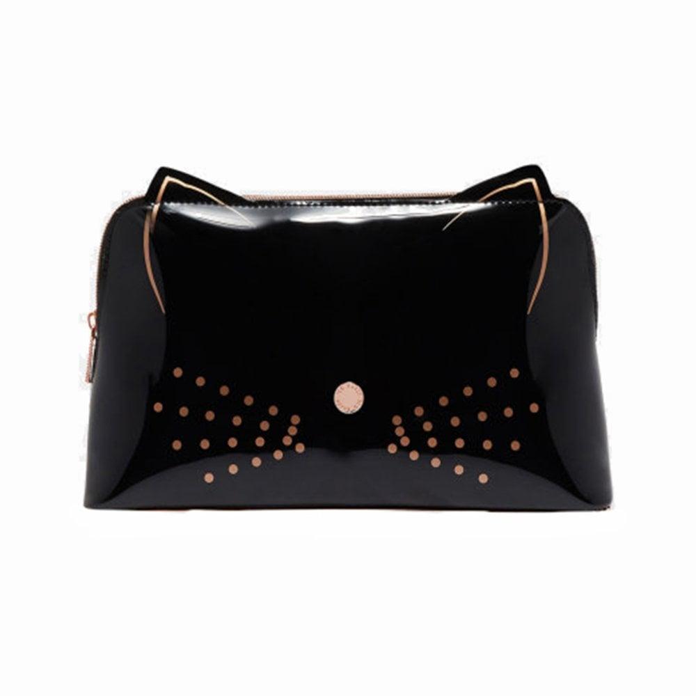 302b84ce0195 ALLEGRO Cat Wash Bag Black