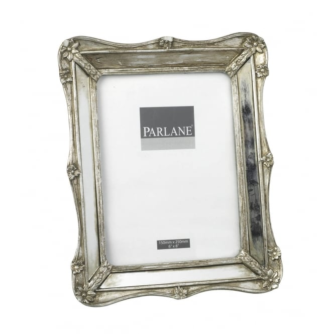 PARLANE AMELIA PICTURE FRAME ANTIQUE SILVER