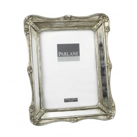 AMELIA PICTURE FRAME ANTIQUE SILVER