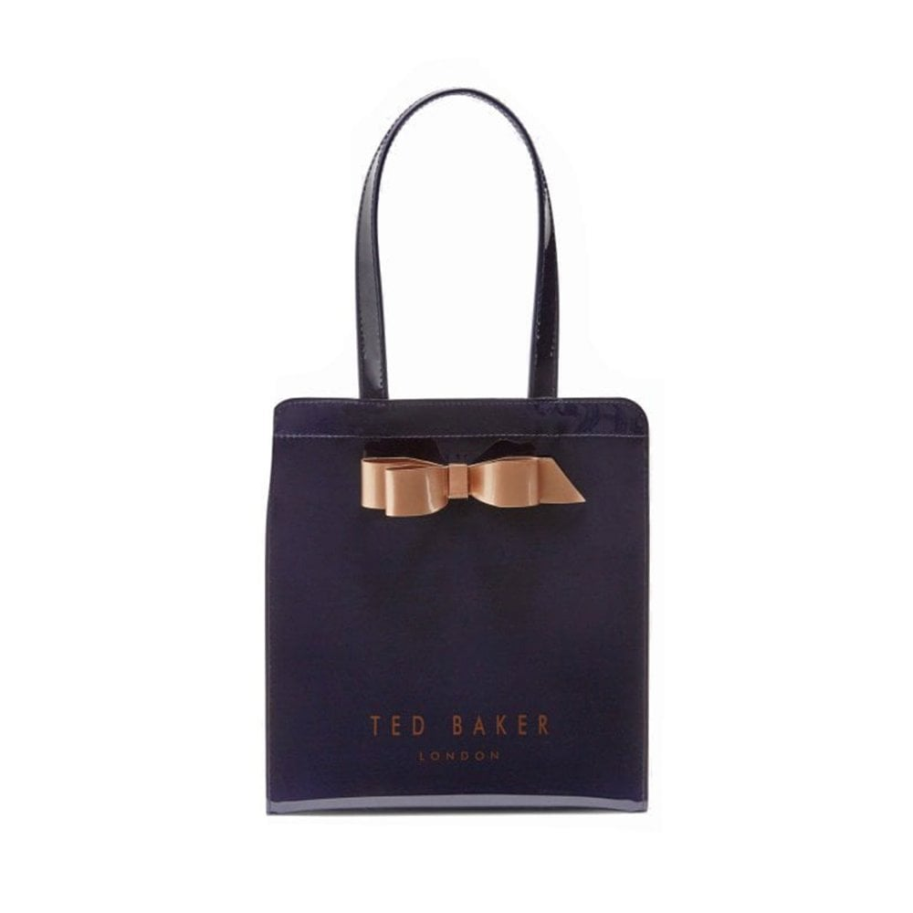 e03241fe0282 TED BAKER ARYCON Core Bow Small Icon Bag Blue - Ladies from ...