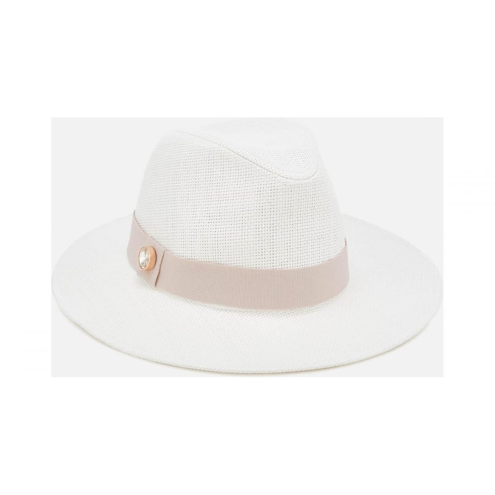 TED BAKER ASIMINA-Colour block fedora - Ladies from Sandersons ... b3a8815a9e0