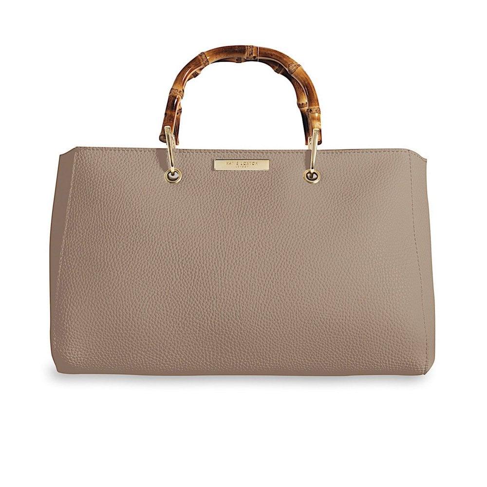 Handbag - Avery Bamboo - Taupe 78aef996d39fa