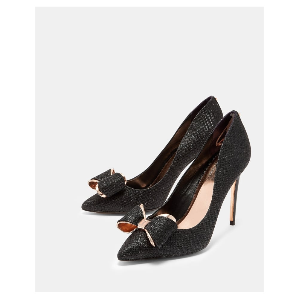 Ted Baker Court Shoes Black