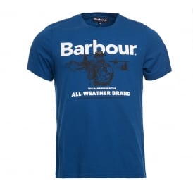 Barbour All-Weather Te Deep Bl