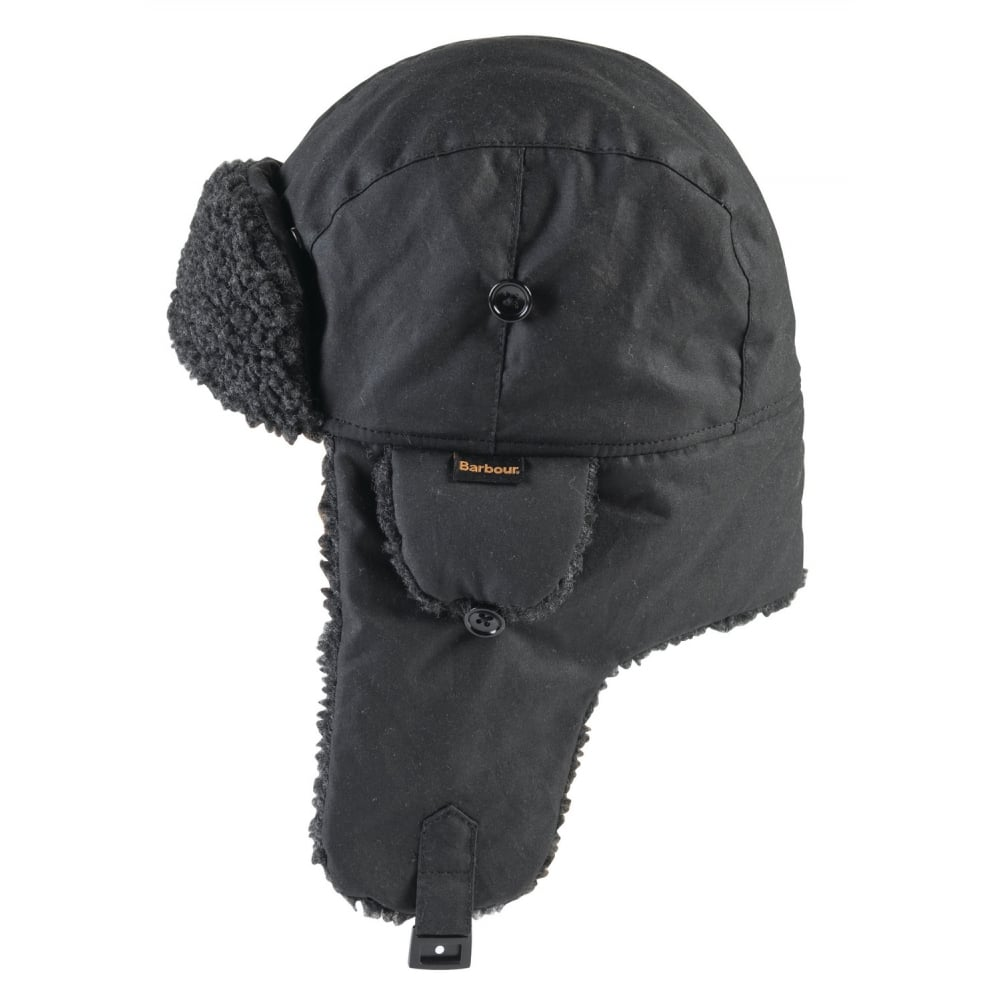 1b0294f8862306 BARBOUR Fleece Lined Trapper Hat
