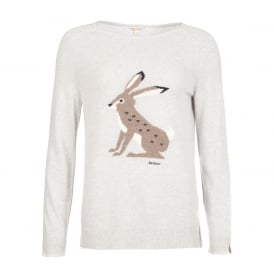 Heath knit rabbit jumper