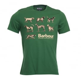 Barbour Hound Tee Racing
