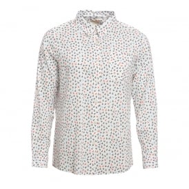 Barbour Whitby Shirt White