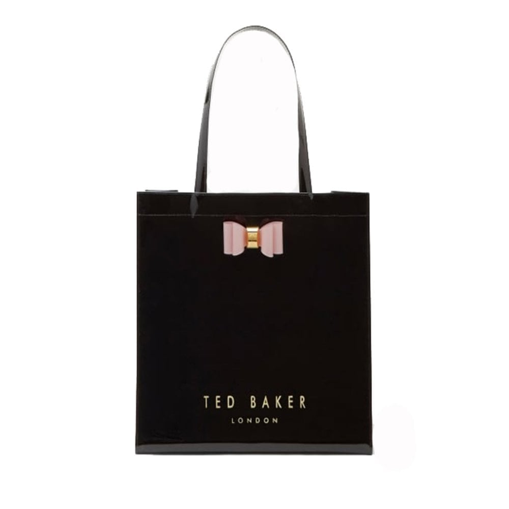 9c941a98923 TED BAKER BETHCON bow detail large icon bag Black - Ladies from ...