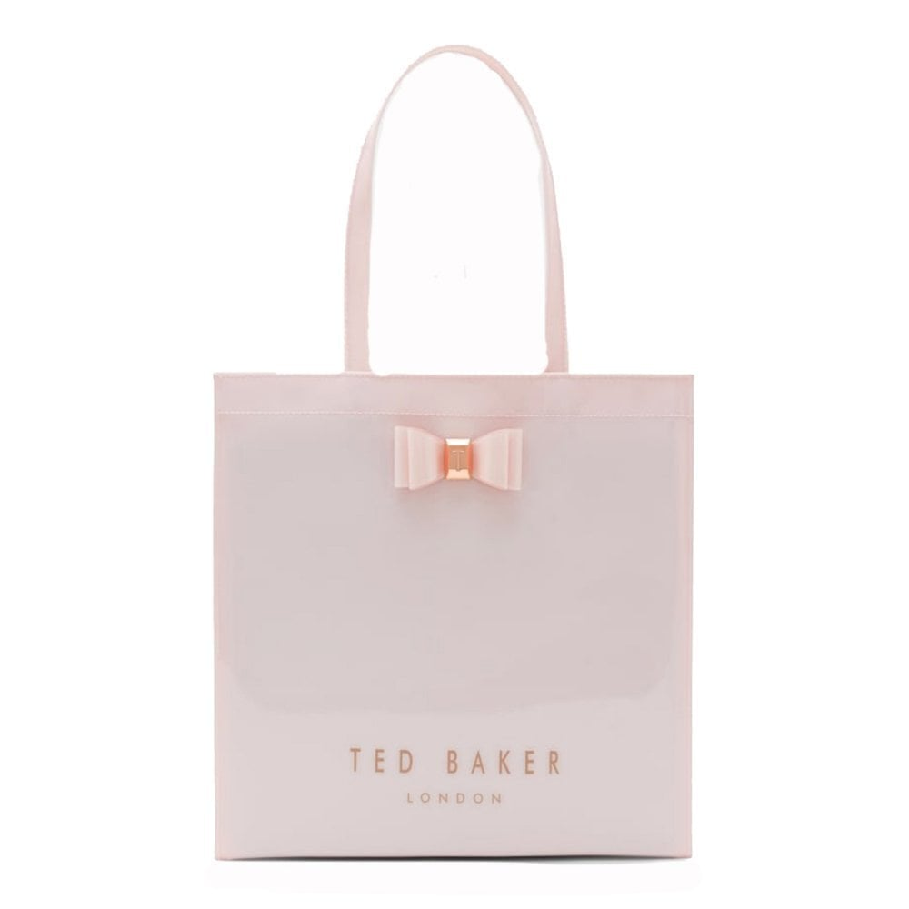 5e1c2bf36a TED BAKER BETHCON bow detail large icon bag Pink - Ladies from ...