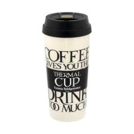 Black Toast 16oz Thermal Cup