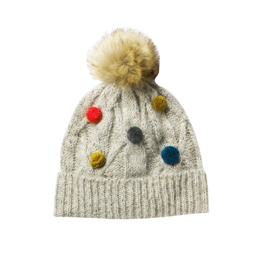 9e542d9836808 Cable Pom Pom Hat