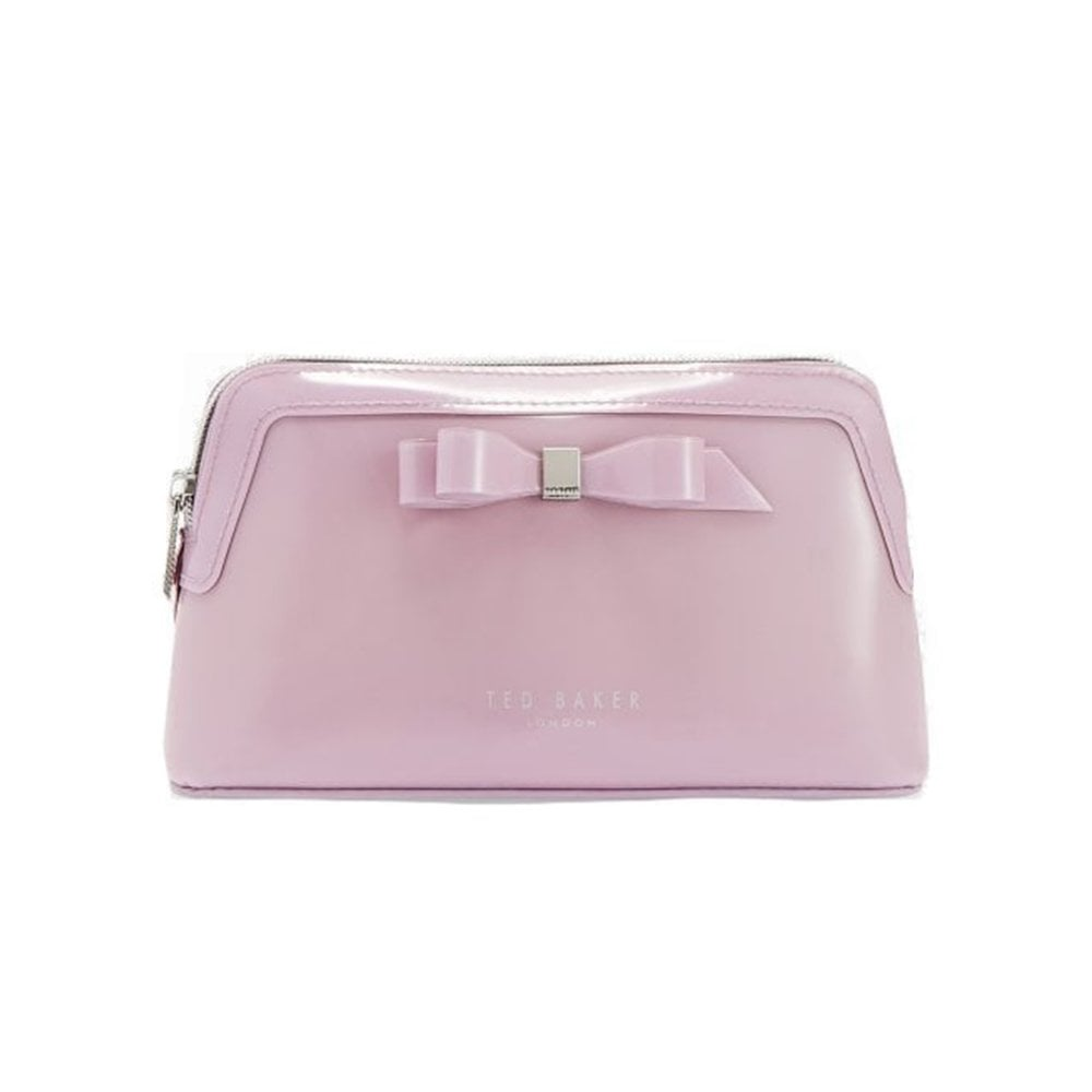 eeef692d030f TED BAKER CAHIRA Bow Makeup Bag Pink - Ladies from Sandersons ...