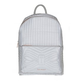 CHEVAAN reflective quilted bow backpack