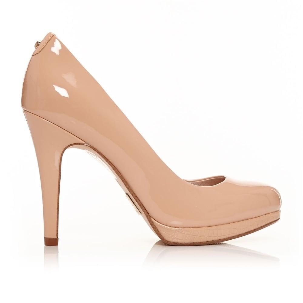 753b87907f6 MODA IN PELLE CIVELLO almond shaped toe court shoe nude - Ladies ...