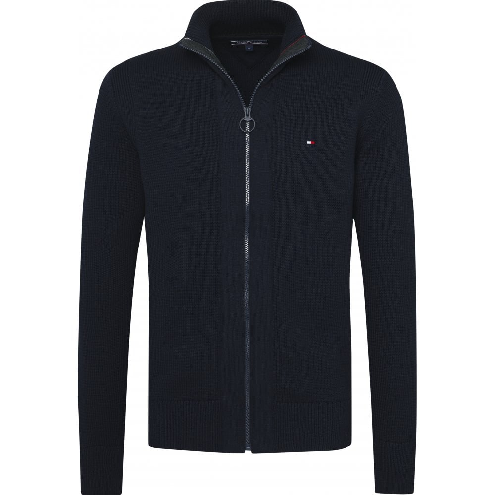 0e1a99c1 TOMMY HILFIGER Classic Heavy Gauge Zip Up Sweater - Mens from ...