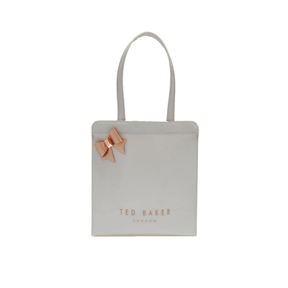 90f88faee TED BAKER CLEOCON Small Bow Icon Bag Grey - Ladies from Sandersons ...