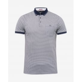 ENDERS short sleeve all over print polo t-shirt