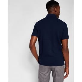 ESKIMO short sleeve flat knit collar polo shirt