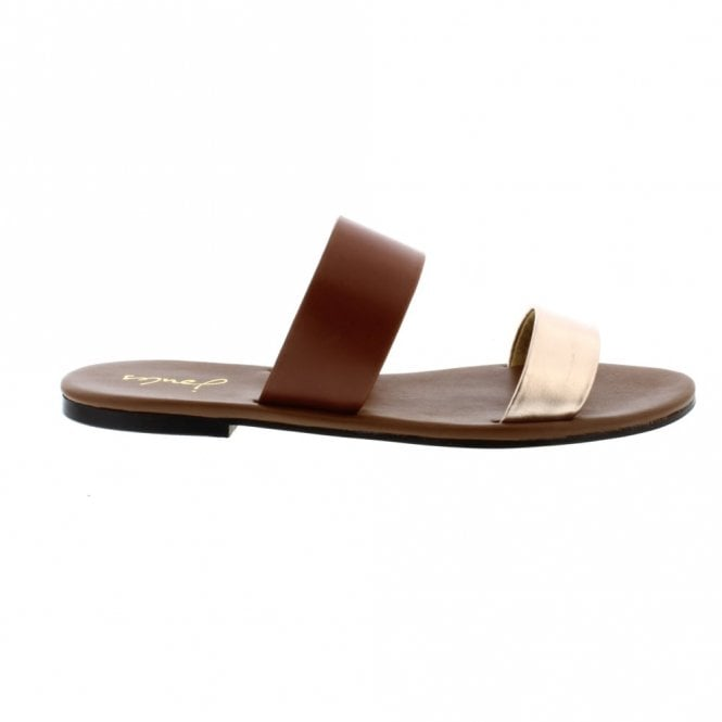 JOULES FENTHORPE sandals rose gold
