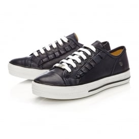 FIONIE leather trainers