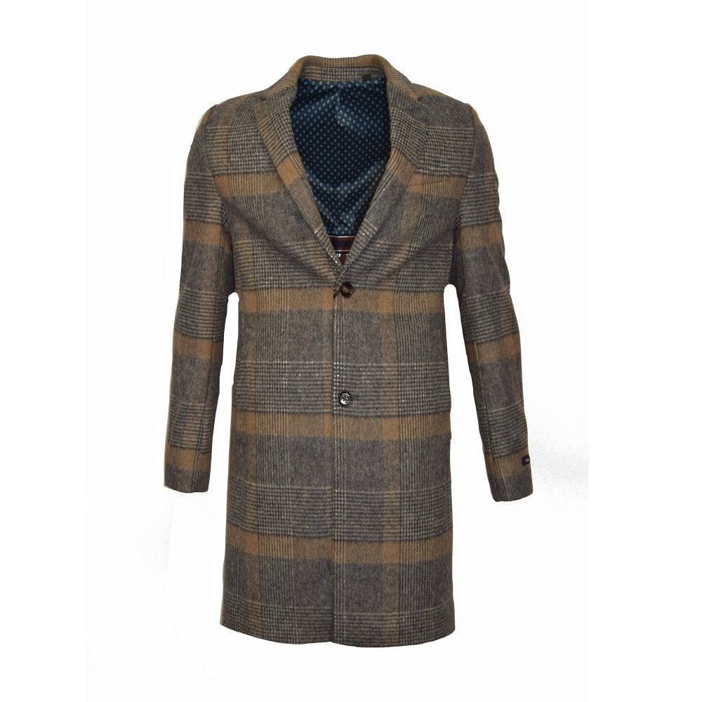 6be562e92 ... Coats and Jackets  TED BAKER FRAIS- Check Overcoat Brown. Tap image to  zoom. SALE. FRAIS- Check Overcoat Brown