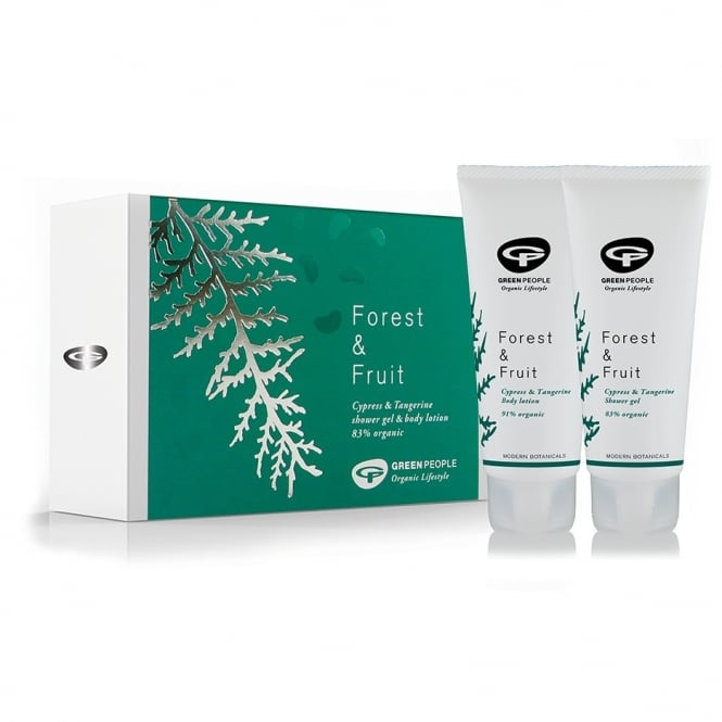 GREEN PEOPLE FOREST & FRUIT LOTION & WASH XMAS GIFT