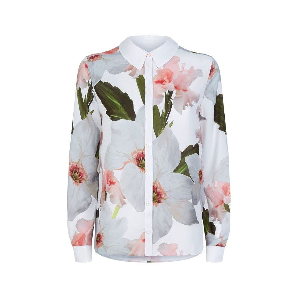 edb4221acd009 TED BAKER GWENA chatsworth bloom long sleeve shirt - Ladies from ...