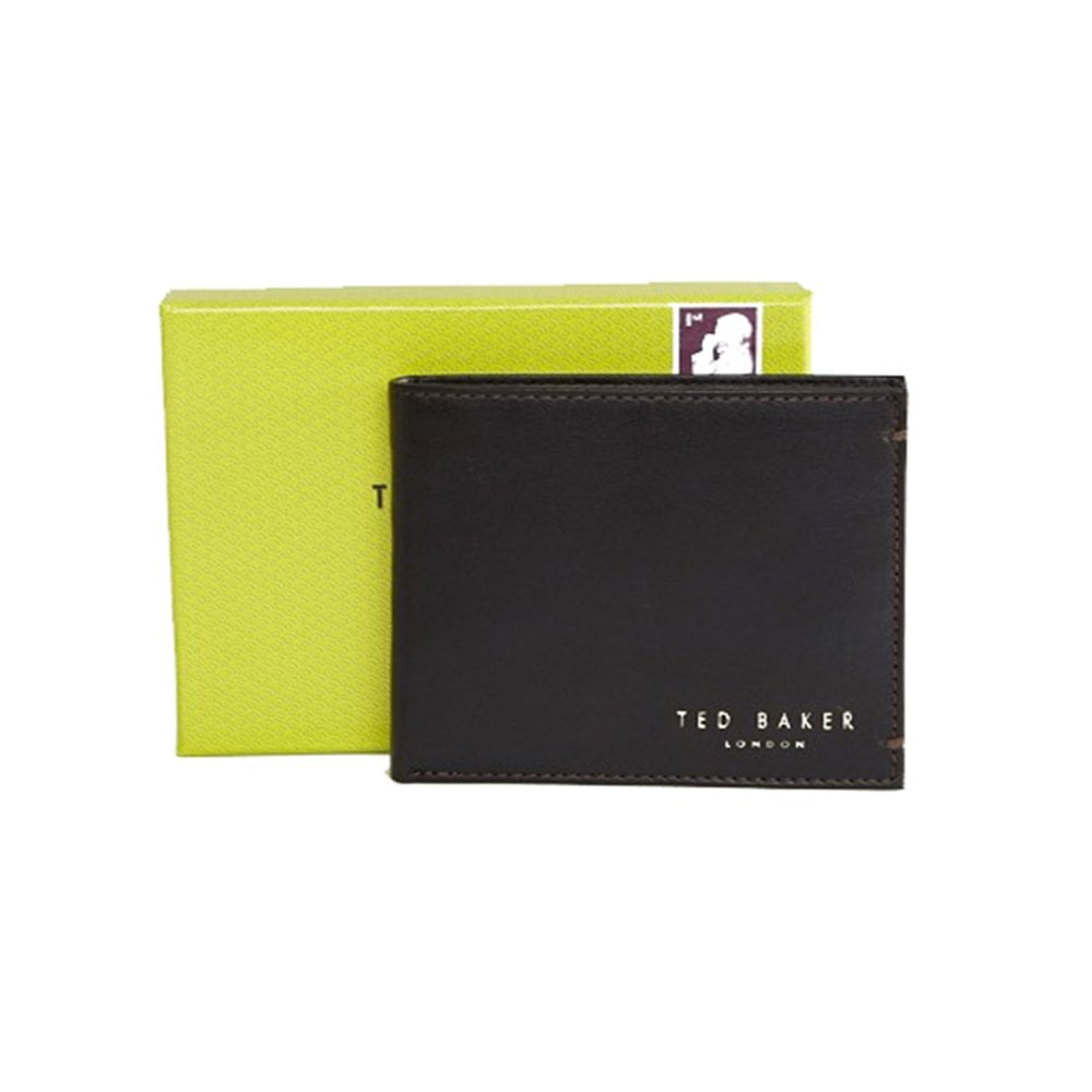 bbe7aa030 HARVYS Core Bifold Coin Leather Wallet Black