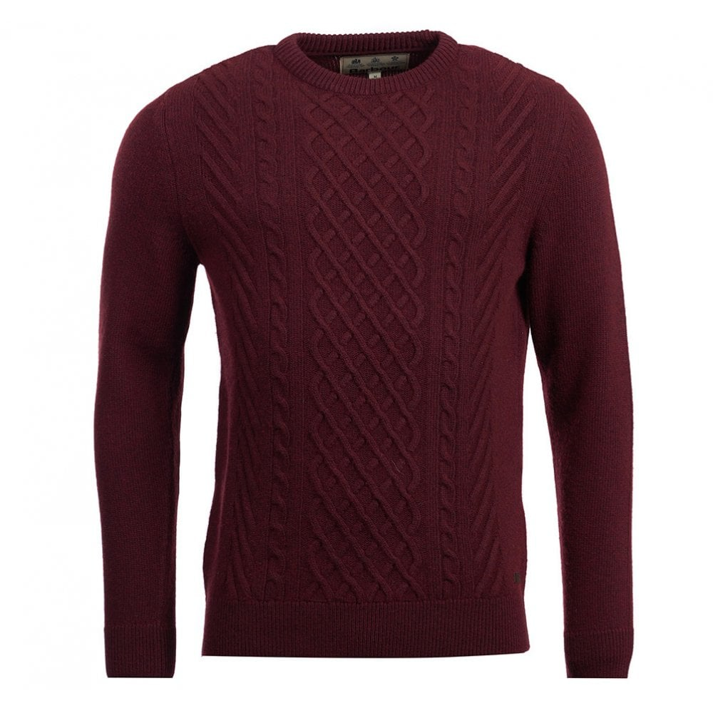 Haywood Cable Jumper Dark Merlot. Haywood Cable Jumper Dark Merlot. BARBOUR  Haywood Cable Jumper ... c12de62a4a13