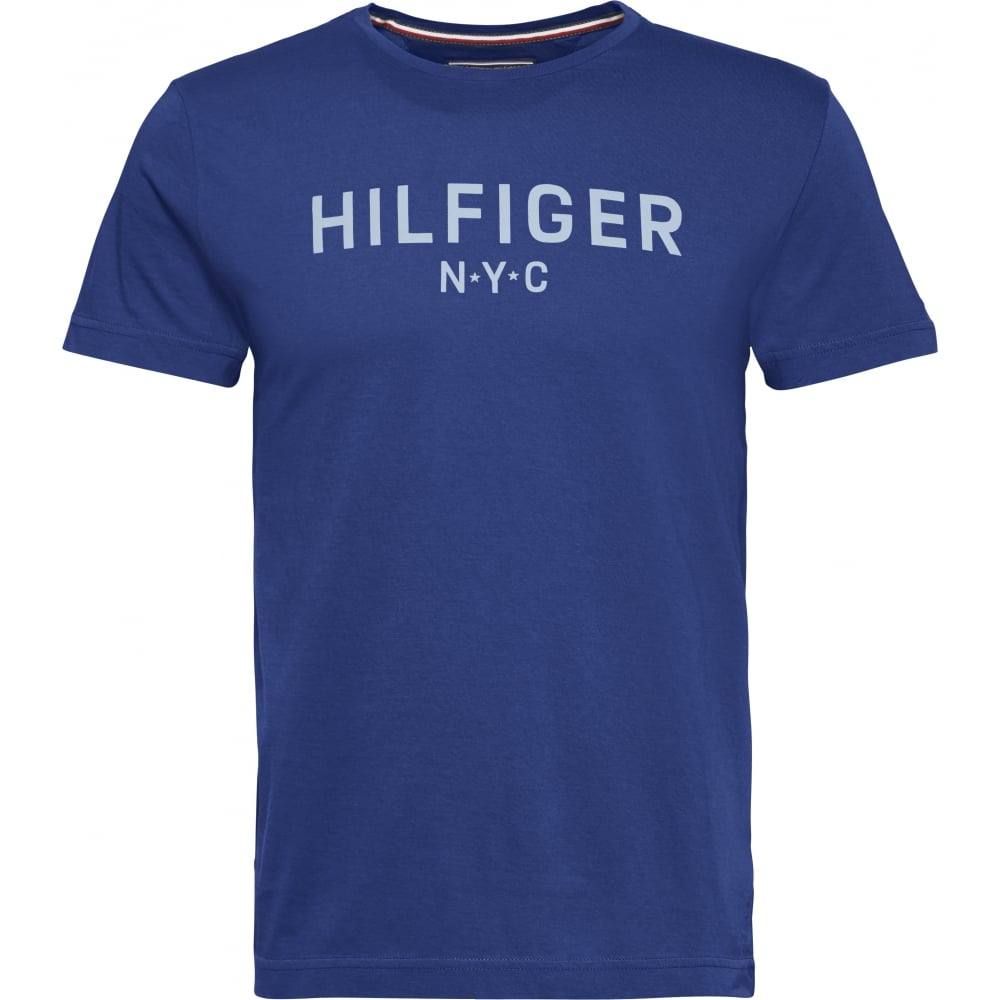 82b85967d97 TOMMY HILFIGER HILFIGER GRAPHIC TEE BLUE - Mens from Sandersons ...