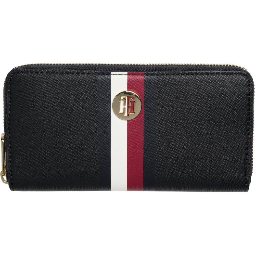 96810a8415b3 TOMMY HILFIGER Honey Large Wallet 901 Corporate Blue - Ladies from ...