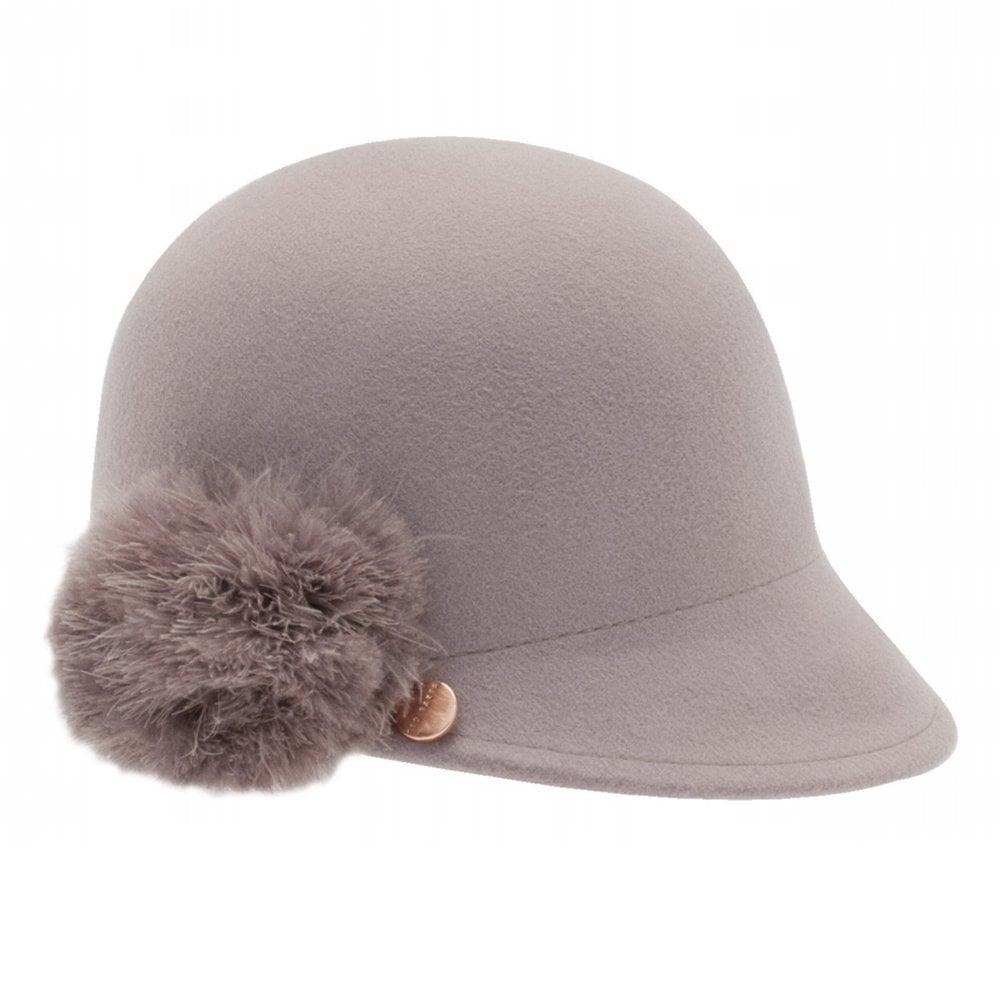 1bab69be491b JADDAA Pom Peak Hat Grey