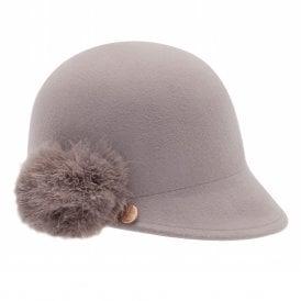 e1d5cecb2cf1d JADDAA Pom Peak Hat Grey SALE · TED BAKER ...