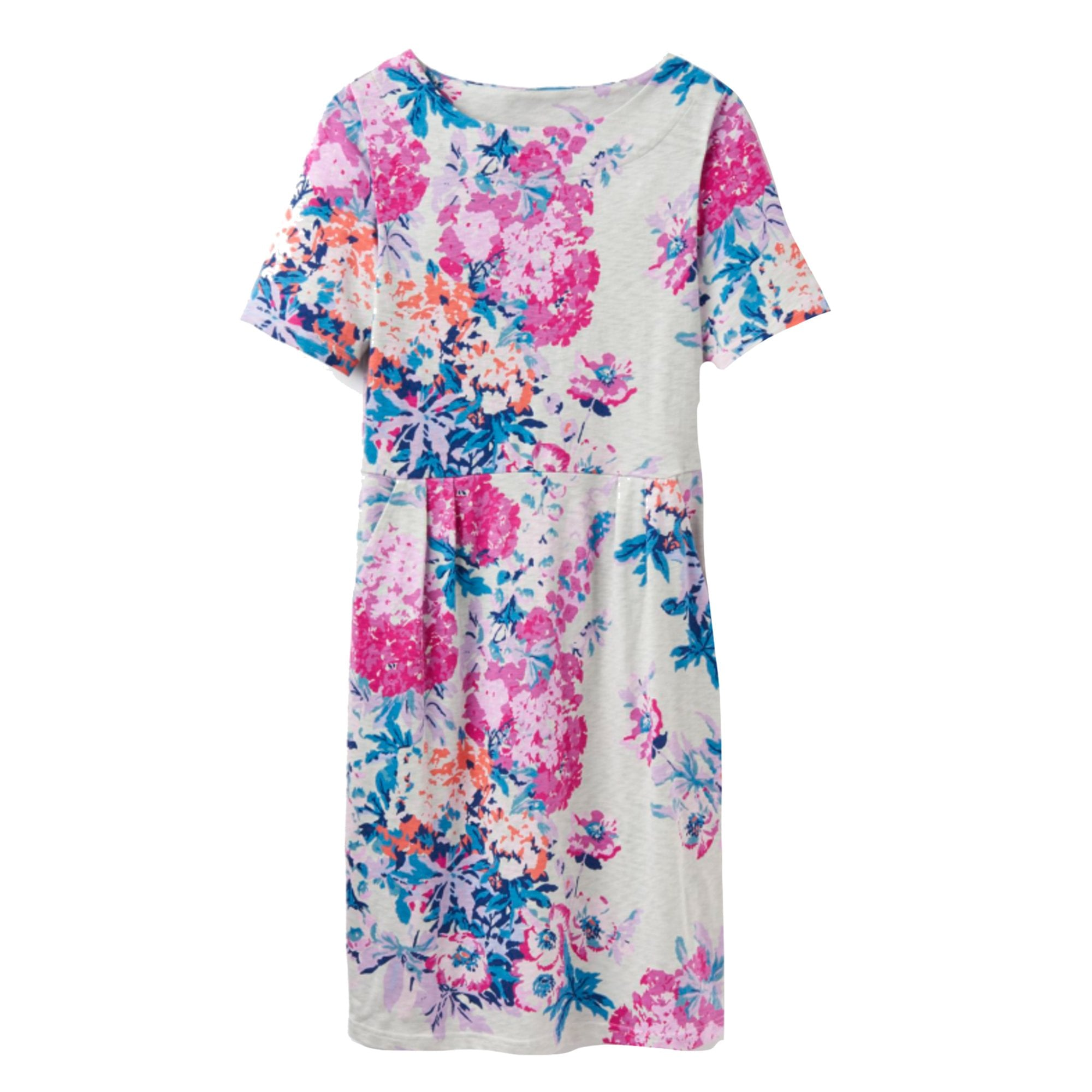 Joules Beth Jersey Dress Grey Floral