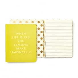 Concealed Spiral Notebook Limoncello