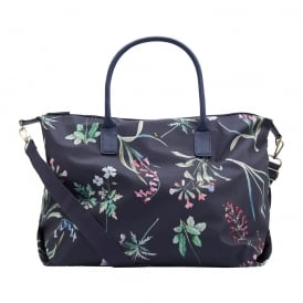 KEMBRY overnight bag navy botanicals