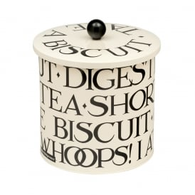 Knives & Forks Biscuit Barrel