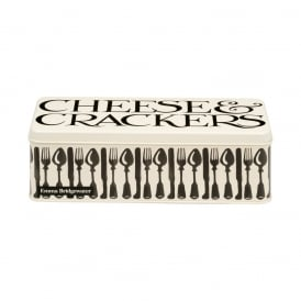 Knives & Forks Long Deep Rectangular Tin