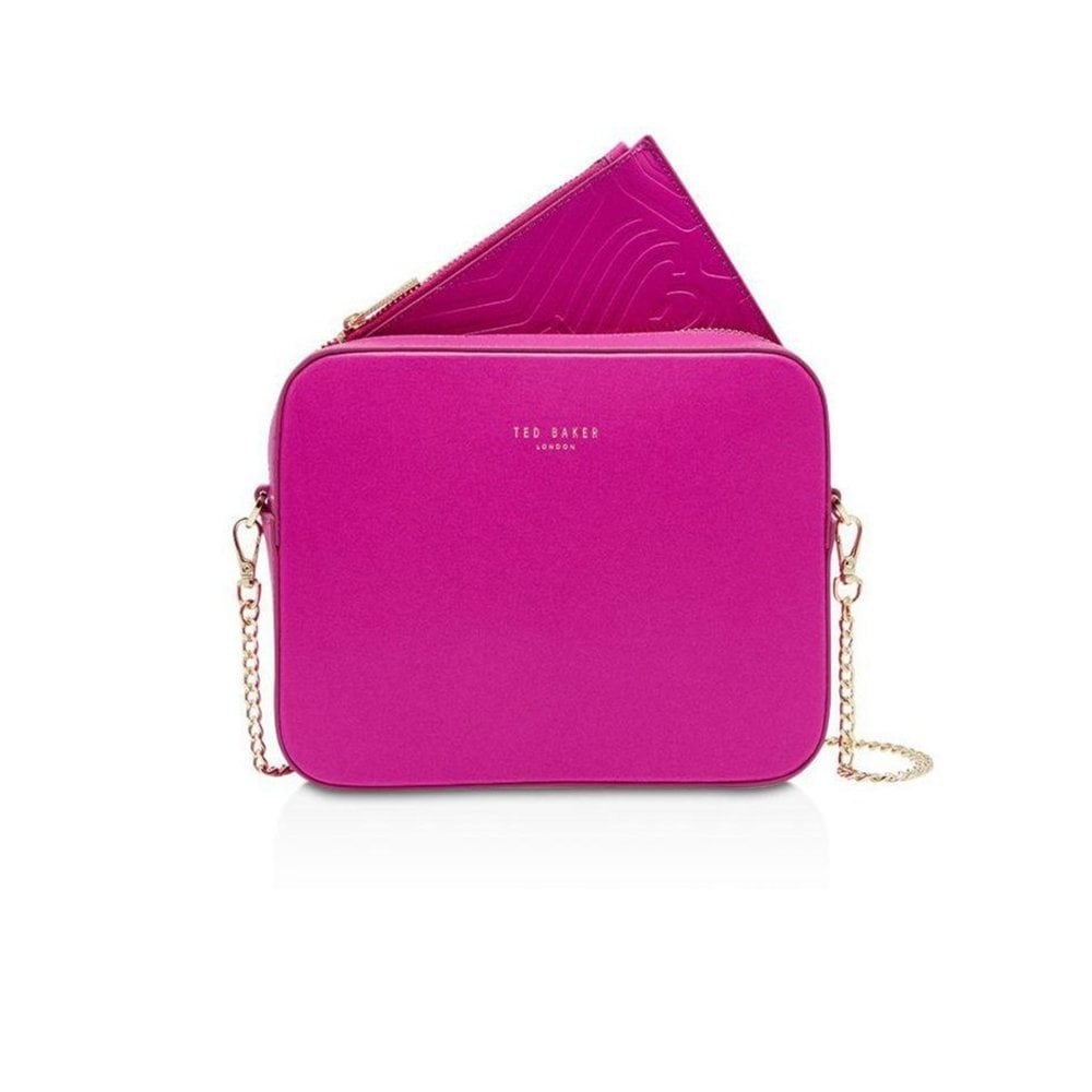 54bff0761 TED BAKER LANEYY-Chain strap camera bag Pink - Ladies from ...