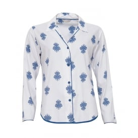 Lara Floral Print Long Sleeve Top