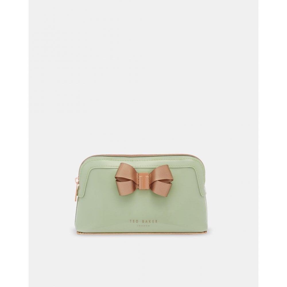 fd928c5319e1 TED BAKER LEZLIE-Bow makeup bag Green