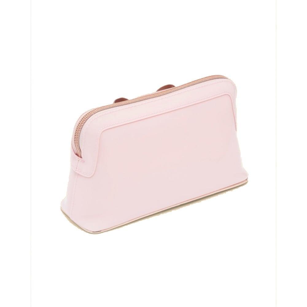 3e937efe9bbe TED BAKER LEZLIE-Bow makeup bag Pink - Beauty from Sandersons ...