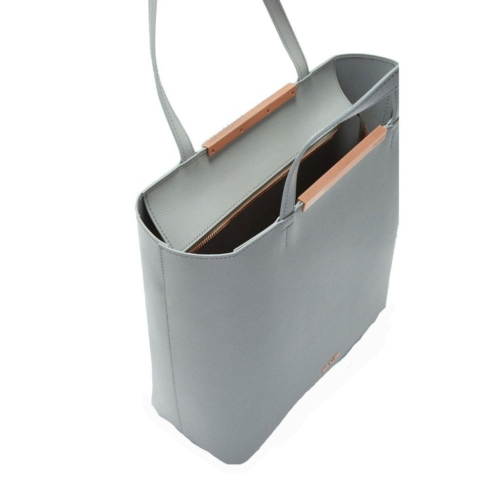 1cca42f20 MELISA Core Leather Large Shopper Grey