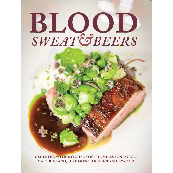 MEZE PUBLISHING BLOOD SWEAT AND BEERS COOK BOOK